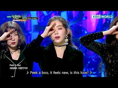 Red Velvet - Peek-A-Boo   레드벨벳 - 피카부 [Music Bank / 2017.12.08]