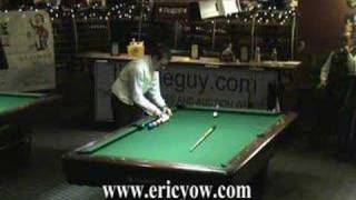 "Eric ""The Preacher"" Yow! WPA Masse World Champion Clip"
