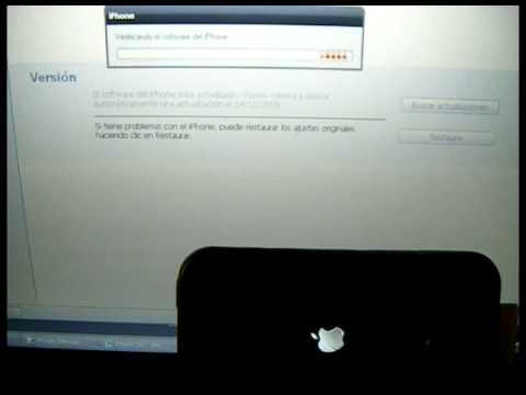 Restaurar iphone bloqueado en pantalla con logo itunes