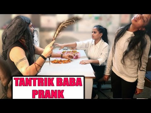 Cute Girl trapped by Tantrik BABA PRANK  Unglibaaz