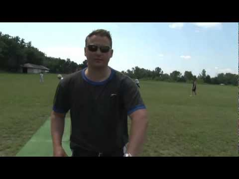 """Where are my slips?!"" Goughie gives Warsaw Cricket Club a masterclass"