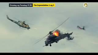 TV3+ Denmark - The Expendables Movie Combo Promo 2017