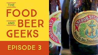 San Francisco Beer Scene - Anchor Brewing Company | The Food and Beer Geeks | Ep 3
