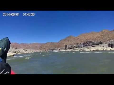 Orange River Rafting 2014