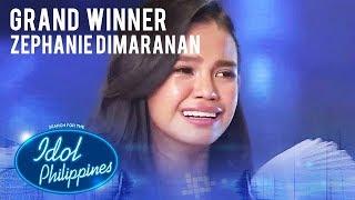 Zephanie Dimaranan wins Idol Philippines 2019| The Final Showdown | Idol Philippines 2019