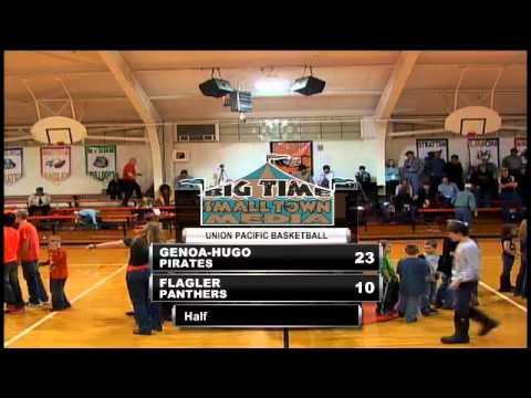 Boys Basketball: Genoa-Hugo at Flagler