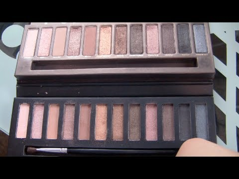 Urban Decay Naked Palette vs. Two Cosmetics Daily Palette (Dupe?)