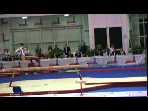 Bianca Ciobanu (ROU) Jesolo 2012 - BB, 3rd place JR