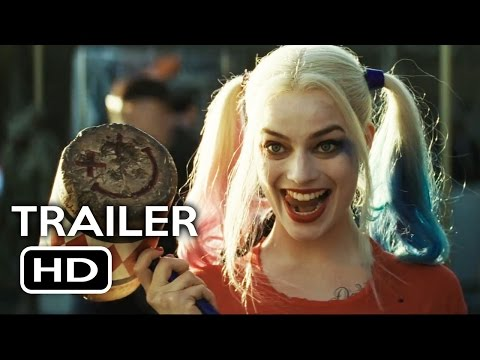 Suicide Squad Official Trailer #2 (2016) Jared Leto, Margot Robbie Action Movie HD