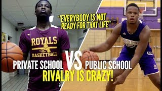 """""""Everybody's Not Ready For That Life"""" NY Public School vs Private School RIVALRY Is CRAZY!"""