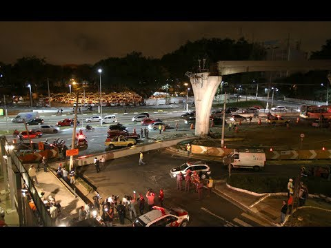 World Cup 2014: Monorail partial collapse kills one in São Paulo