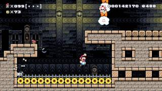 Super Mario Maker - 100 Mario Challenge - Can I do it on Normal?