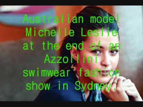 Michelle Leslie: Model Comeback Video