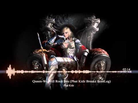 Queen-We Will Rock you (Phat Kidz Breakz BootLeg