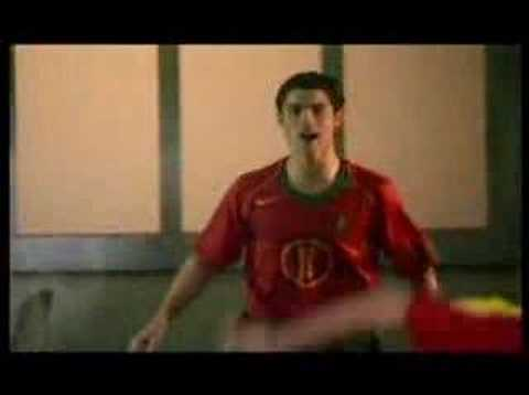 funny soccer commercial Video