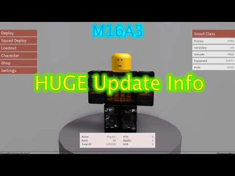 Roblox Phantom Forces - M16A3 + HUGE Update Info
