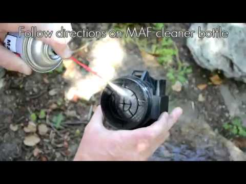 How to clean the mass air flow sensor on your BMW e46