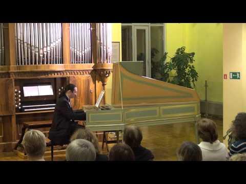 """Бах Иоганн Себастьян - Итальянский концерт"""" для оркестра, партитура Presto"""