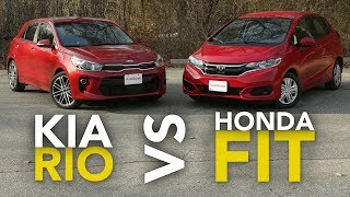 2018 Kia Rio vs Honda Fit Comparison: Which Subcompact Hatchback Is Better?
