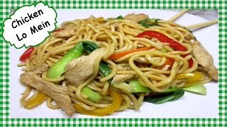 How to Make The Best Chicken Lo Mein ~ Chinese Food Recipe