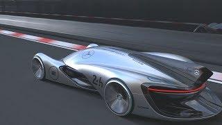 Future Mercedes–Benz Silberpfeil Concept Race Car 2055