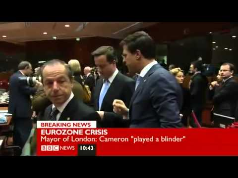 UKIP Nigel Farage on David Cameron BBC   9th Dec 11