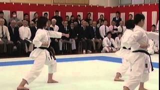 早稲田大学団体形演舞