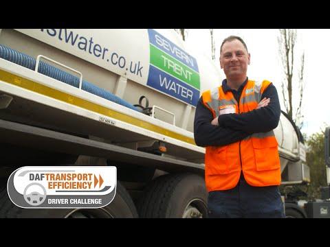 DAF Transport Efficiency Driver Challenge - Meet the Finalists: Paul Barlow