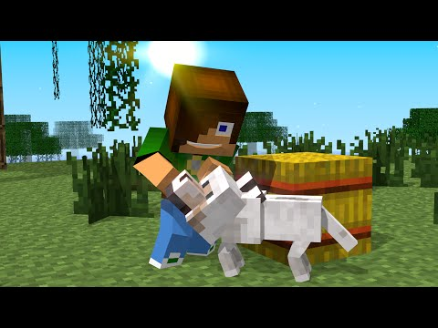 Animal School: Ep. 2: Jumping (minecraft Animation) [ Parody Of Monster School ] video