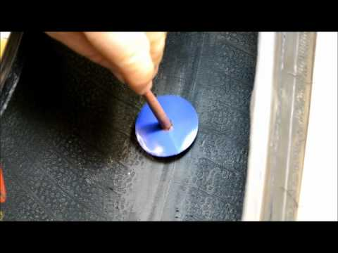 How to repair a car or light truck tire