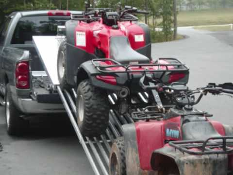 ATV, Trailer, Powersport Hauler, Cargo Hauler, Motorcycle Trailer, Motorcycle Video
