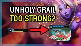 ATHENE'S UNHOLY GRAIL TOO STRONG? - SORAKA SUPPORT SEASON 9 - League of Legends
