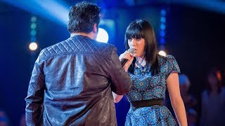 Christina Marie Vs Nathan Amzi: Battle Performance - The Voice UK 2014 - BBC One