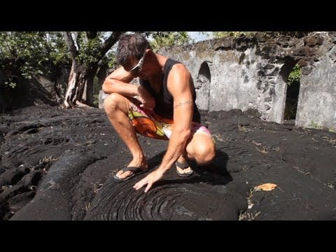 Savaii Lava Fields Samoa 2013, Travel Video Guide