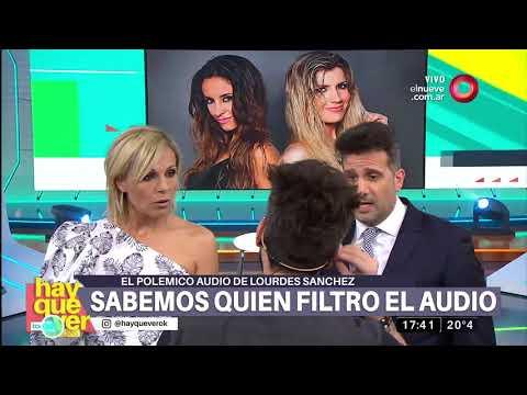 Se divulga polémico audio de Lourdes Sánchez