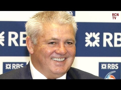 Wales Coach Warren Gatland Turning Down British Lions Job