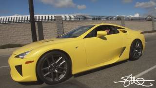 TEST DRIVE LEXUS LFA - IT WANTS TO BE DRIVEN FAST! - $375,000 SUPER-CAR