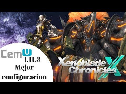 Cemu 1.11.3 Xenoblade Chronicle x 30 fps 4k   Prueba Noctilium   Configuracion #1