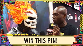 Fans Try to Win this Pin on Marvel LIVE at SDCC 2019!