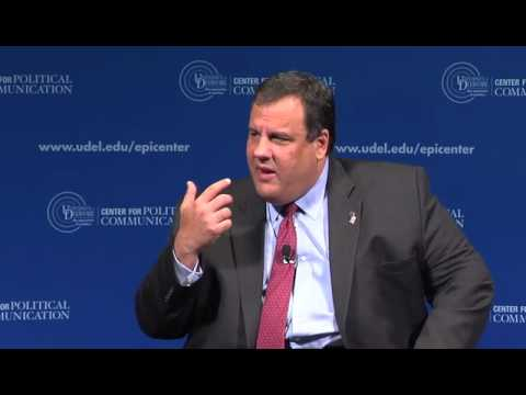 Chris Christie: Challenges Facing the Governors