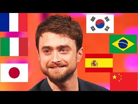 Daniel Radcliffe Speaking 7 Languages