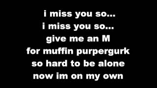 Eskimo Callboy - Muffin Purper-Gurk (lyrics on screen)