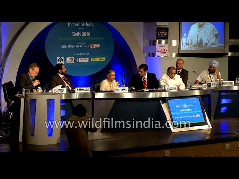 India Hosts A Press Conference Ahead Of Commonwealth Games 2010, In Delhi