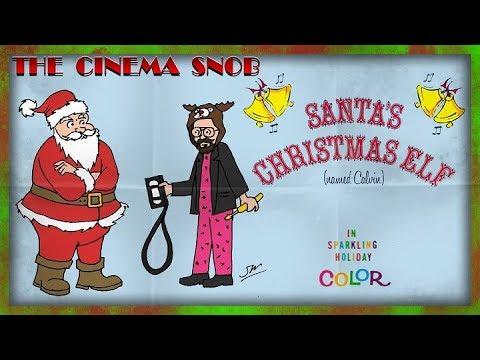 The Cinema Snob: SANTA'S CHRISTMAS ELF (NAMED CALVIN)