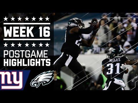 Giants Vs Eagles Nfl Week 16 Game Highlights
