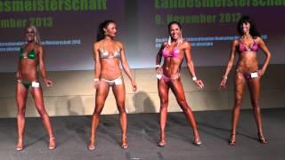 Bikini Klasse I+II - DBFV Norddeutsche Meisterschaft 2013
