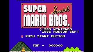 Super Mario Bros. Special with X1 Graphics (SMB1 Hack)