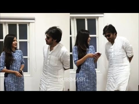 Ashu Reddy Meets Pawan Kalyan | Junior Samantha Ashu Reddy Meets #PowerStarPawanKalyan