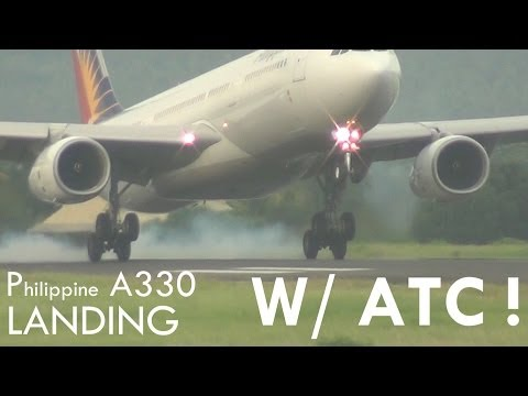 Davao International Airport: Philippine A330 w/ Radio Check and Tower Comms