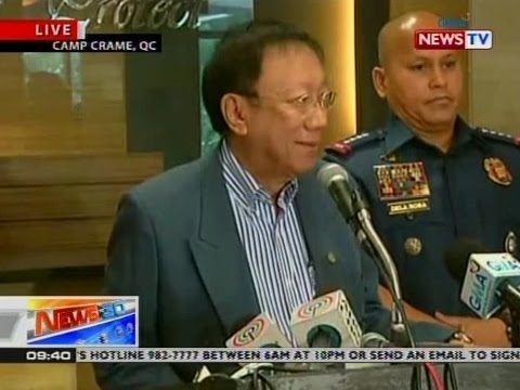 NTG: PNP Chief and Solicitor General's press conference